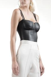 Viesca y Viesca Leather Fitted Bustier - Product Mini Image