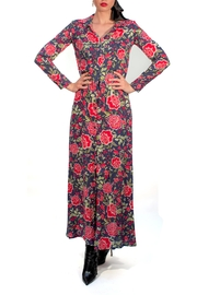 Viesca y Viesca Long Shirt Dress - Front full body