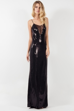 Viesca y Viesca Low Back Maxi Dress - Product List Image