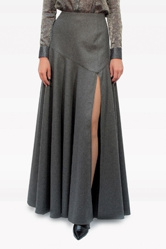 Viesca y Viesca Maxi Wool Skirt - Product List Image