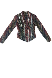Viesca y Viesca Printed Fitted Blazer - Front full body
