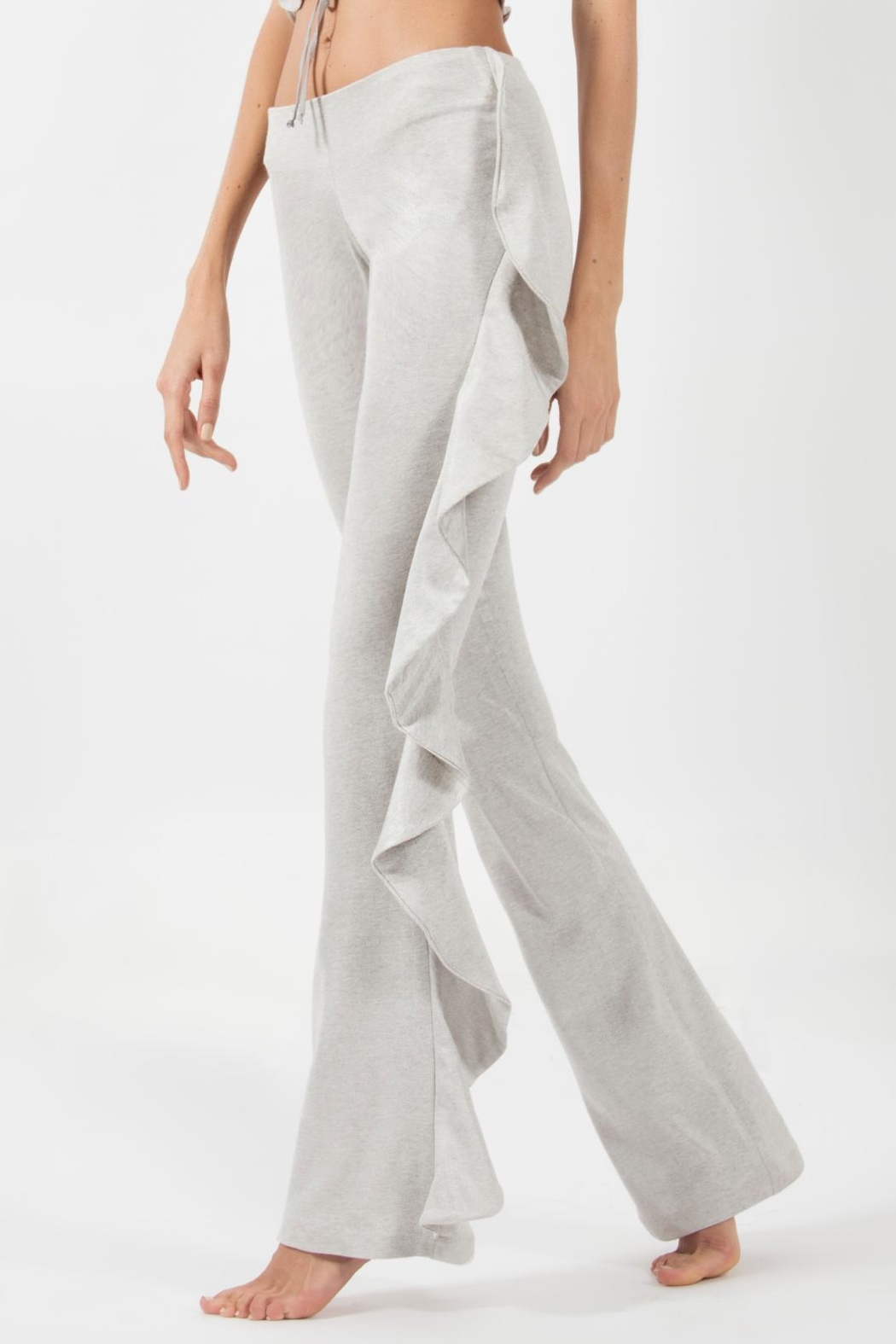 Viesca y Viesca Ruffle Side Pant - Main Image