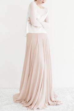 Shoptiques Product: Satin Full Skirt