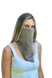 Viesca y Viesca Sequin Scarf Mask - Product Mini Image