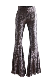 Viesca y Viesca Sequined Flared Pants - Product Mini Image