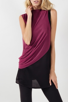 Viesca y Viesca Sleeveless Drapped Blouse - Product List Image