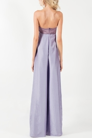 Viesca y Viesca Strapless Jumpsuit - Front full body
