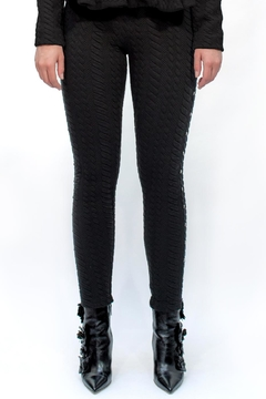 Viesca y Viesca Studded Leggings - Alternate List Image