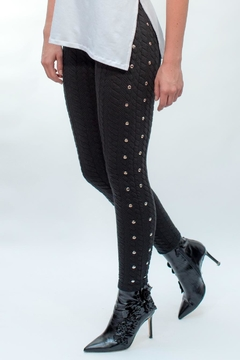 Viesca y Viesca Studded Leggings - Product List Image
