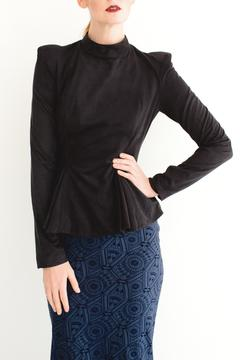 Shoptiques Product: Turtleneck Peplum Blouse