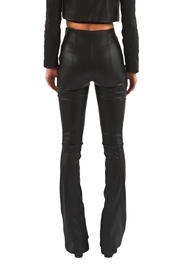 Viesca y Viesca Vegan Leather Pants - Side cropped