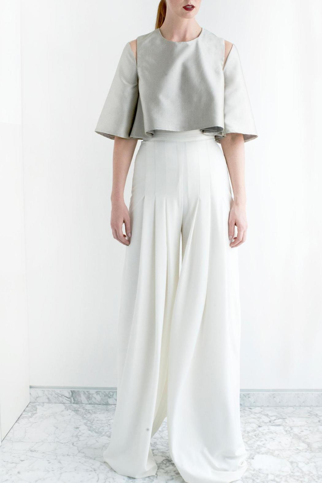 Viesca y Viesca Wide Leg Pants - Front Cropped Image