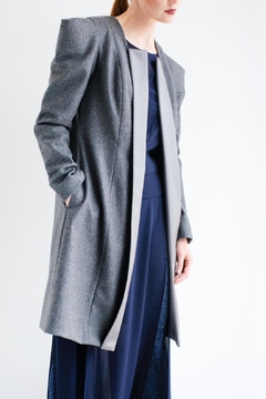 Viesca y Viesca Wool Coat - Product List Image
