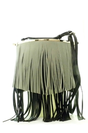 Vieta Double Fringe Crossbody - Product Mini Image