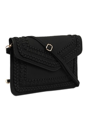 Vieta Vegan Leather Clutch - Front cropped