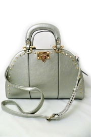 Vieta Vegan Silver Handbag - Product Mini Image