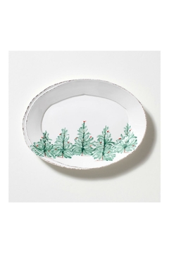 Shoptiques Product: Holiday Oval Platter