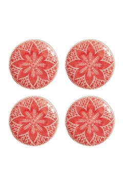 Vietri Lace Cocktail Plates - Product List Image