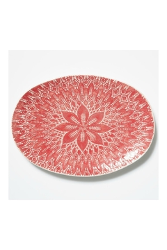 Shoptiques Product: Lace Red Platter