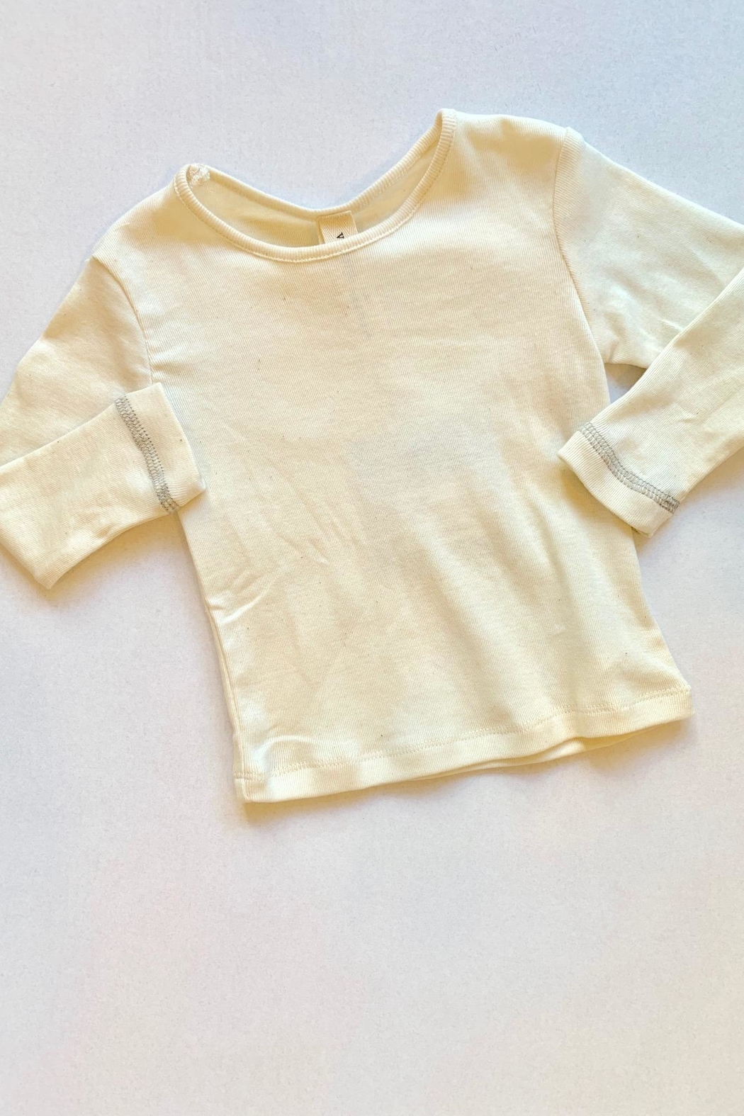 Vignette Cream Long Sleeve - Front Cropped Image