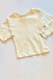 Vignette Cream Long Sleeve - Front cropped