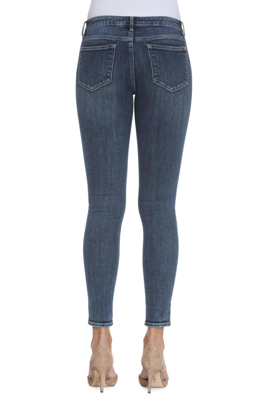 Vigoss Dark-Wash Skinny Jeans - Front Full Image