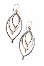 Shoptiques Product: Triple Leaf Earrings