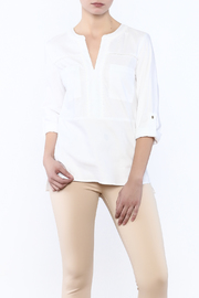 Vilagallo Blue Her Blouse - Front cropped