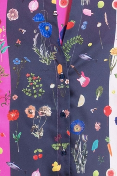 Vilagallo Olimpia Marche Aux Fleurs Shirt - Alternate List Image