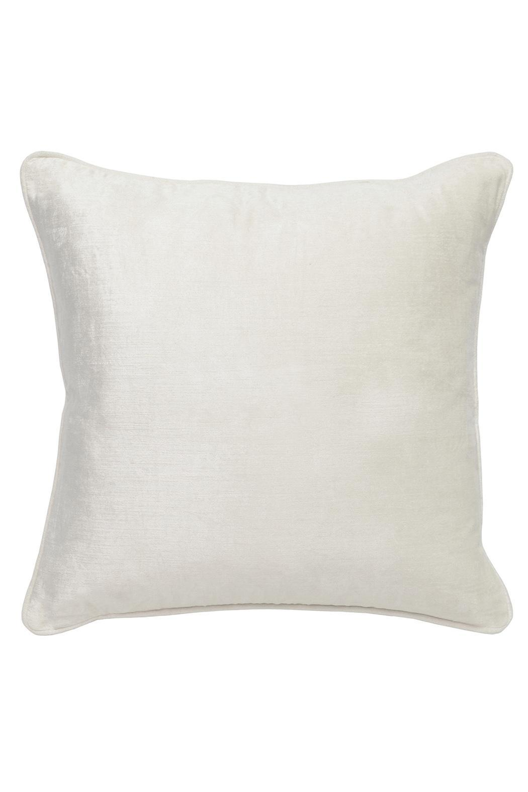 Villa home collection audrey ivory pillow from atlanta by for Villa home collection pillows