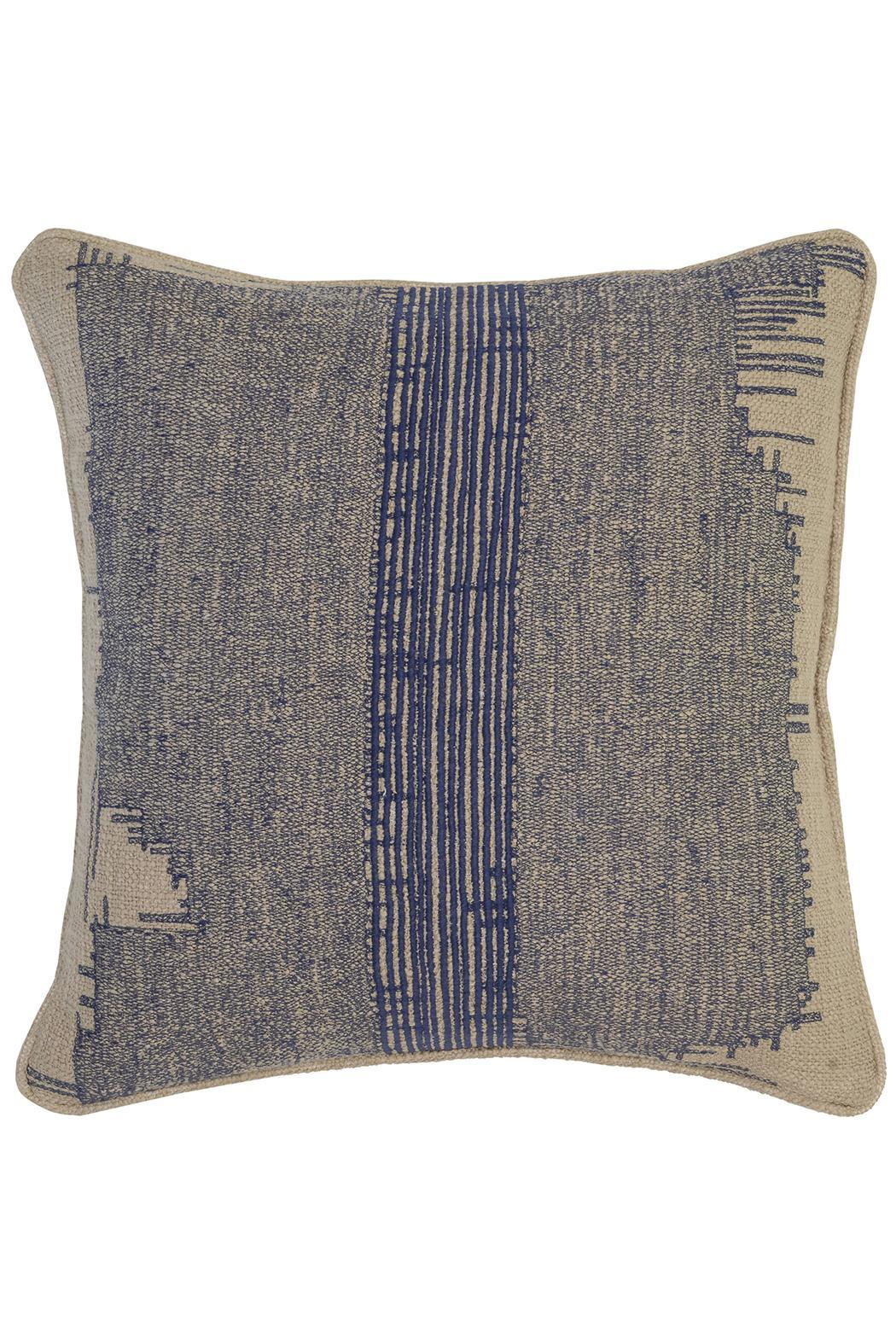 villa home collection celia indigo pillow from atlanta by  - villa home collection celia indigo pillow  front cropped image