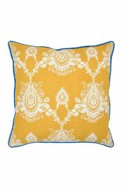 Villa Home Collection Yellow Square Pillow - Product Mini Image