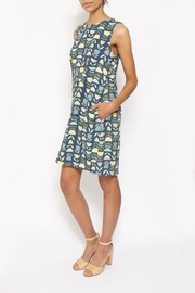 A Della Dress Village Green Shiftdress - Product Mini Image
