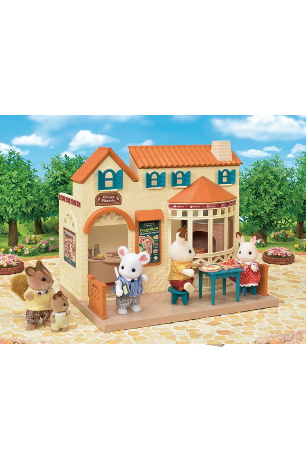 Calico Critters Village Pizzeria - Side Cropped Image