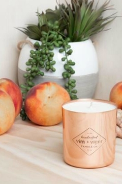 Vim & Vigr Ginger Peach Candle - Product List Image