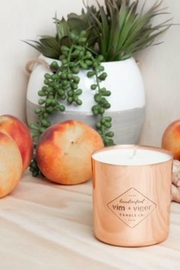 Vim & Vigr Ginger Peach Candle - Product Mini Image