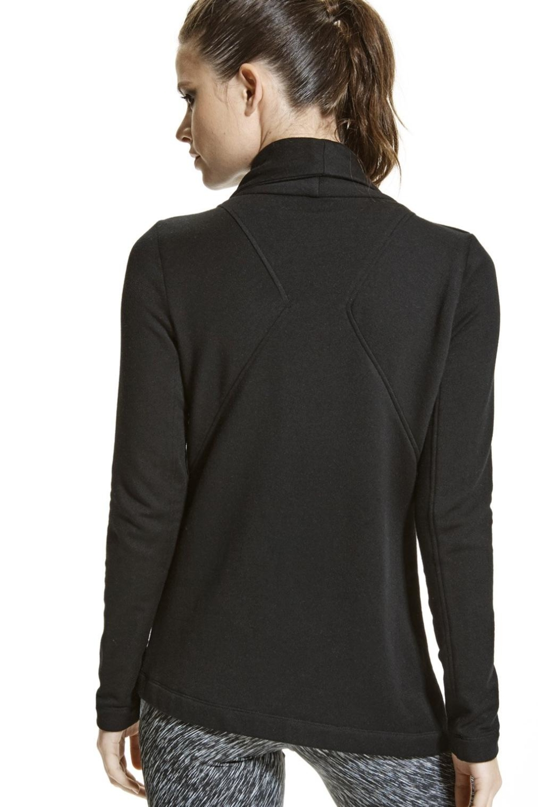 Vimmia Asym Zip Jacket - Side Cropped Image