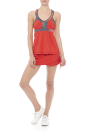 Vimmia Print Lunge Tank - Front full body