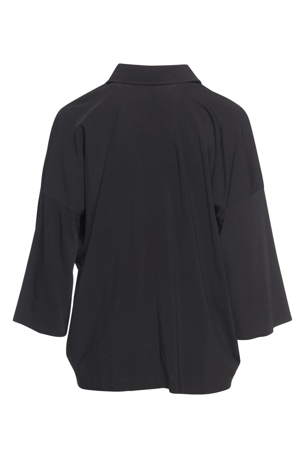Vince Black Oversized Blouse - Front Full Image