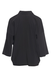 Vince Black Oversized Blouse - Front full body