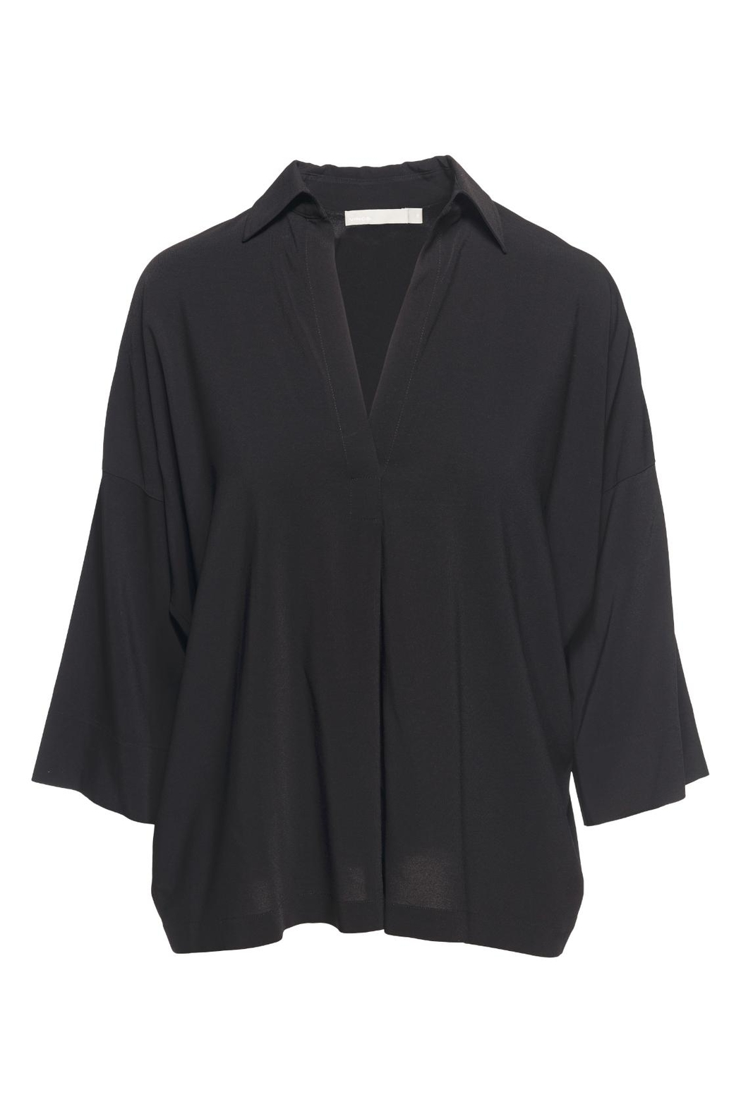 Vince Black Oversized Blouse - Main Image
