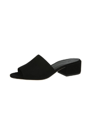 Vince Black Suede Slide Sandal - Product Mini Image