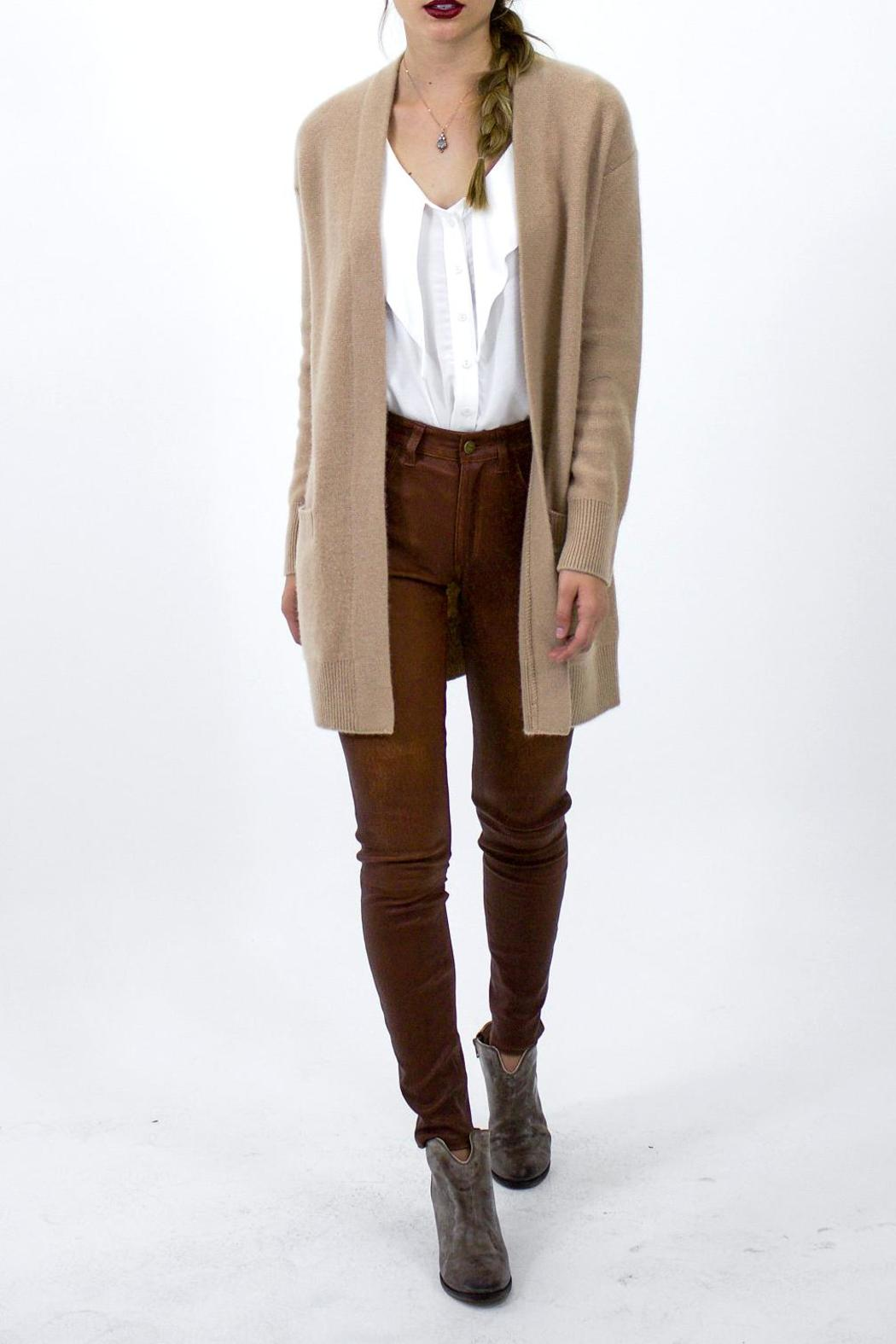Vince Camel Cashmere Cardigan from Los Angeles by Tags Boutique ...