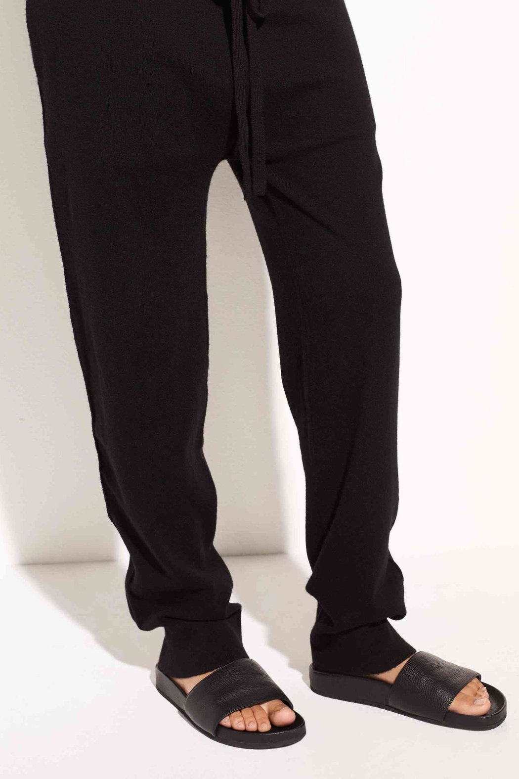 Vince Cashmere-Wool Jogger - Front Full Image