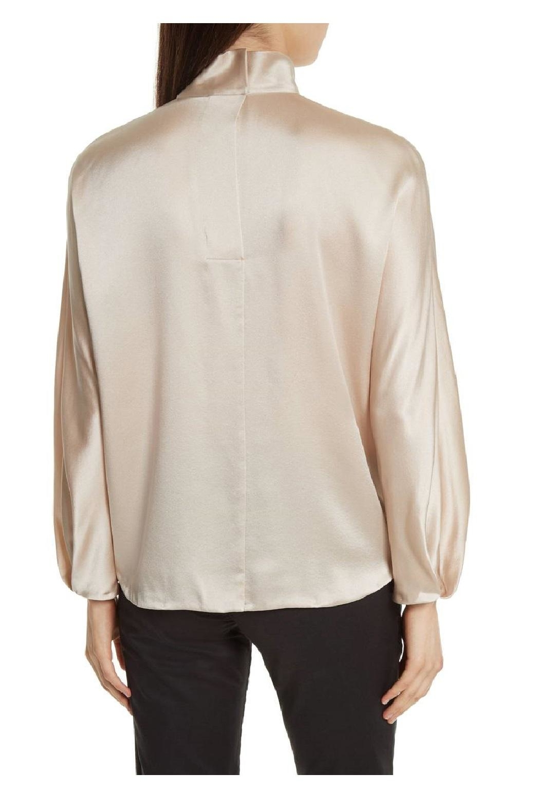 Vince Collar Band Blouse - Side Cropped Image