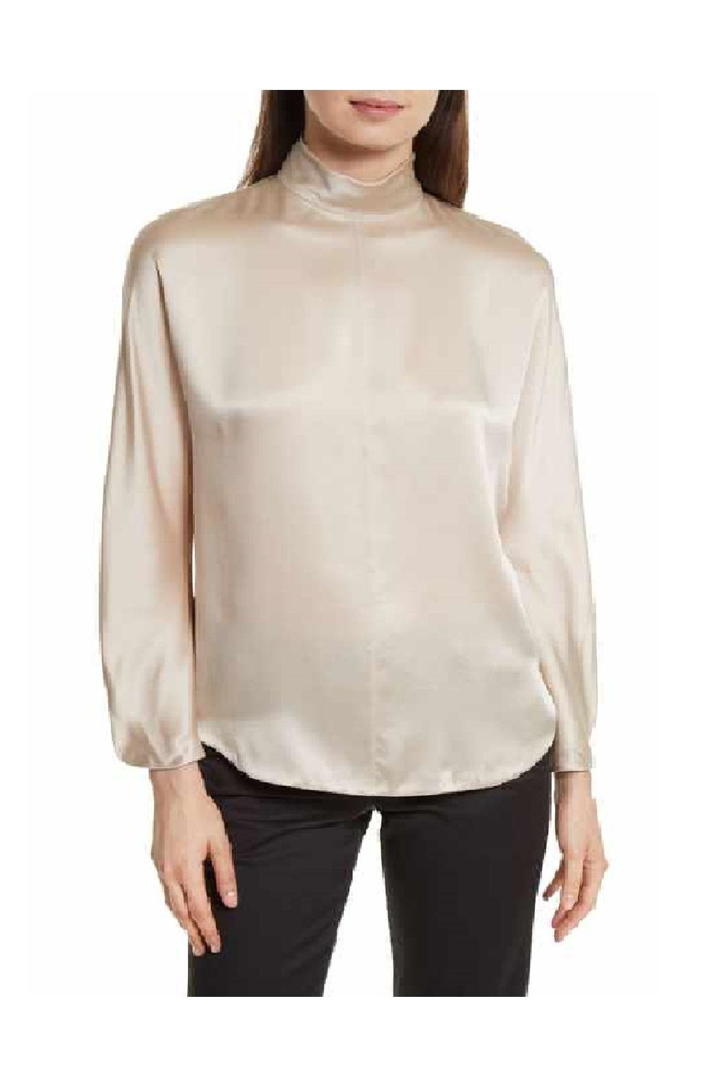 Vince Collar Band Blouse - Main Image