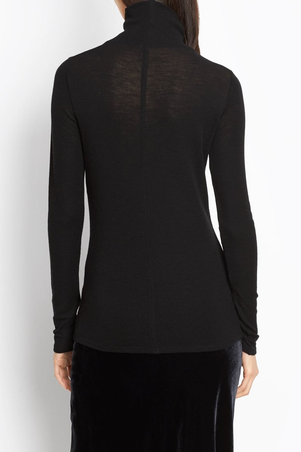 Vince Cowl Turtleneck Sweater - Front Full Image