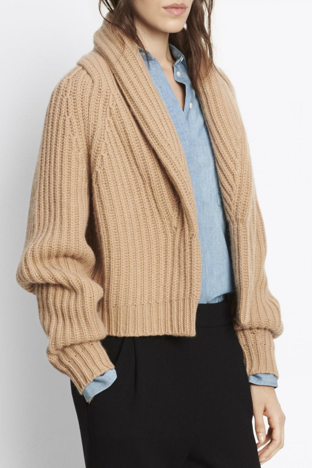 Vince Wool Cropped Cardigan from Greenville by Augusta Twenty ...