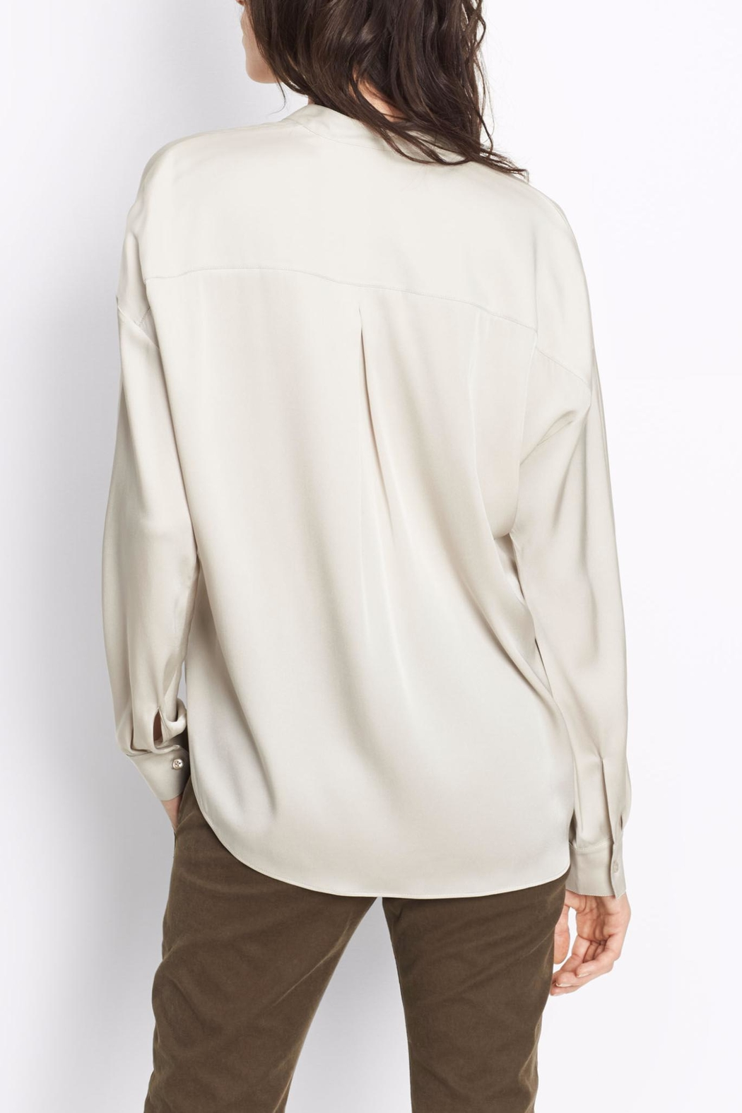 Vince Double Front Blouse - Front Full Image