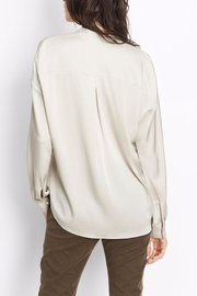 Vince Double Front Blouse - Front full body